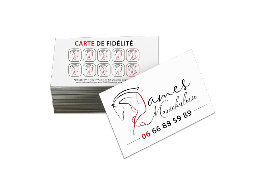 CARTE FEIDELITE JAMES