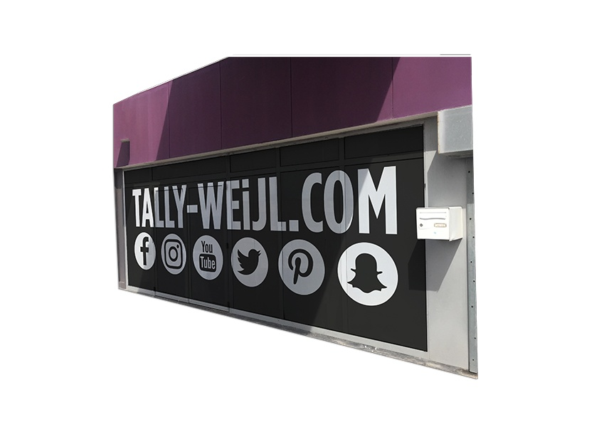 Devanture de magasin Tally Weijl